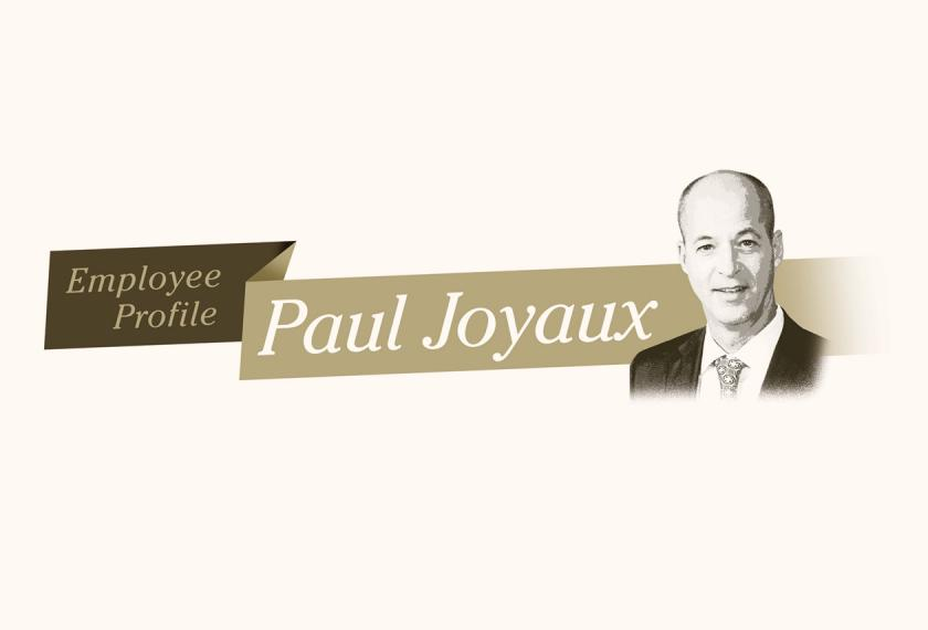 Employee Profile: Paul Joyaux