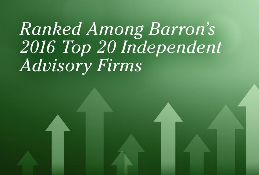RMB Capital Ranked in Barron's Top 20 Independent Advisory Firms Image