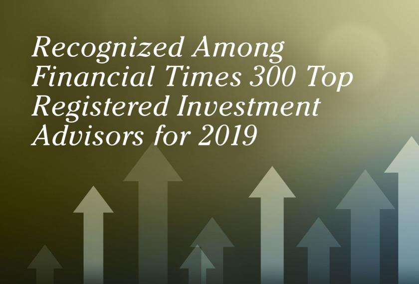 RMB Capital Recognized in 2019 Financial Times 300 Top Registered Investment Advisers