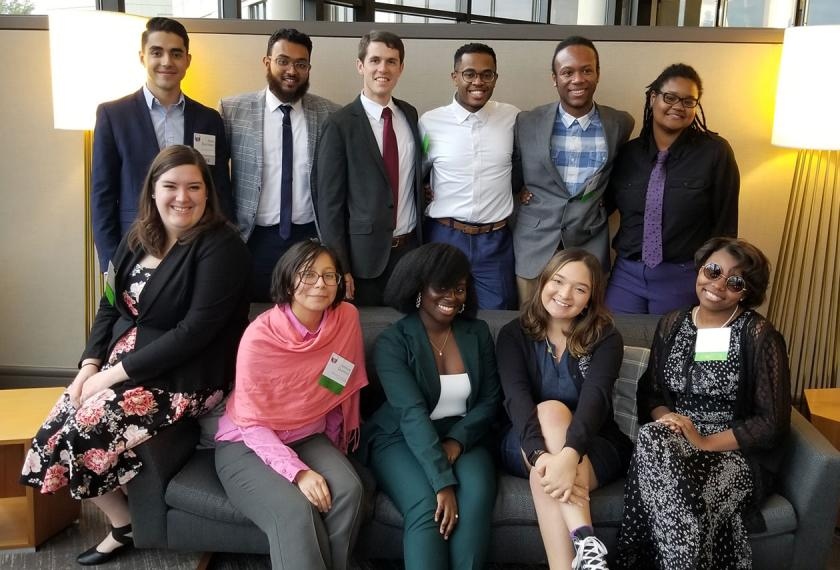 RMB Capital Sponsored Greenhouse Scholars' Glass Half Full Illinois 2019 Event