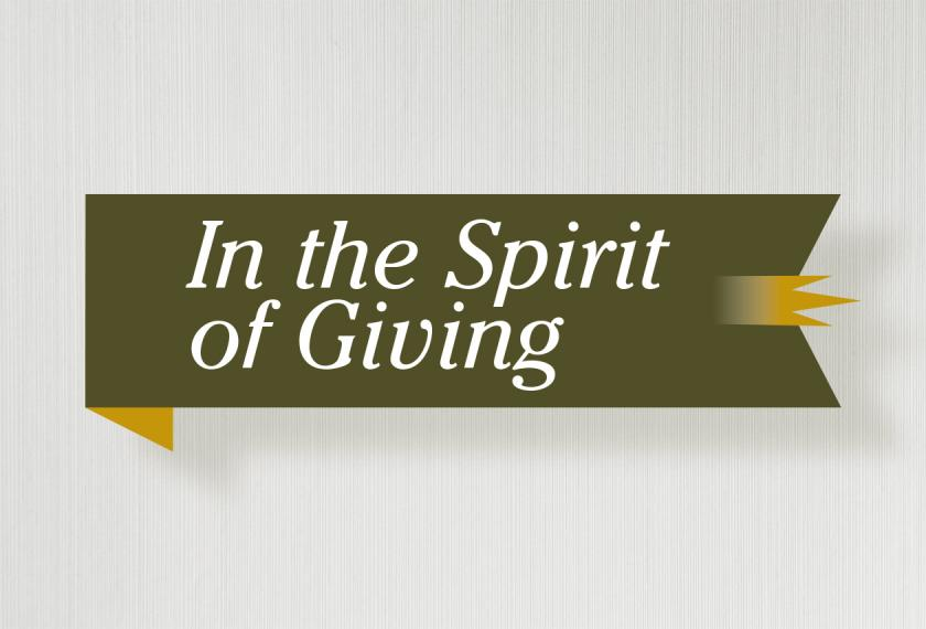 RMB Capital In the Spirit of Giving
