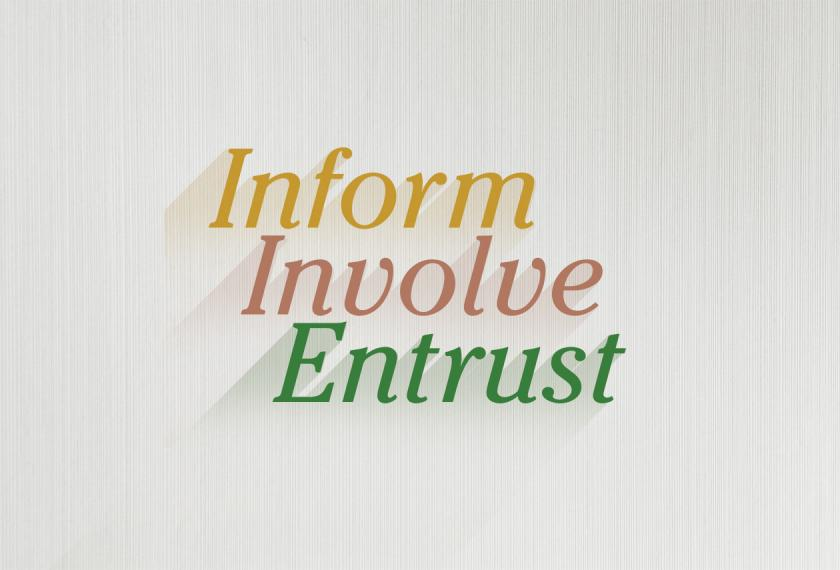 Successful Wealth Transitions: Inform, Involve, Entrust Image